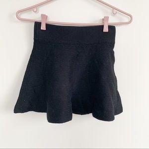 Black Mini Circle Skirt - TALULA - Aritzia